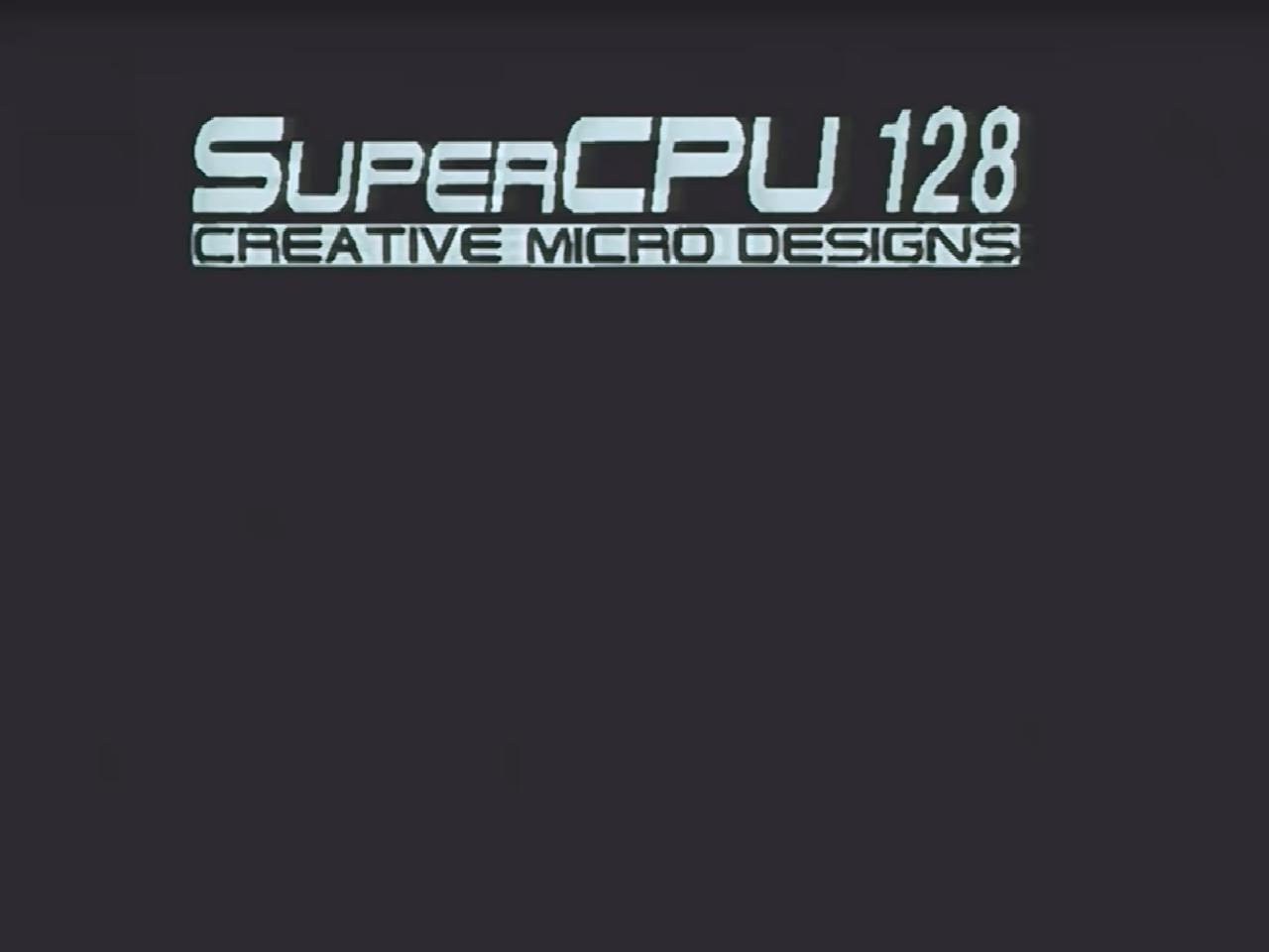 SCPU VDC boot